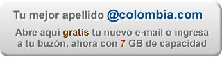 Email Gratis - @colombia.com - 7 GB