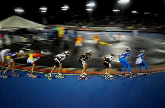 Mundiales de patinaje, Guarne Antioquia. Patin�dromo La Equidad